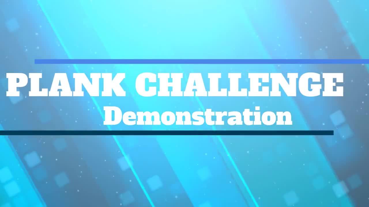 Plank Challenge Demonstration