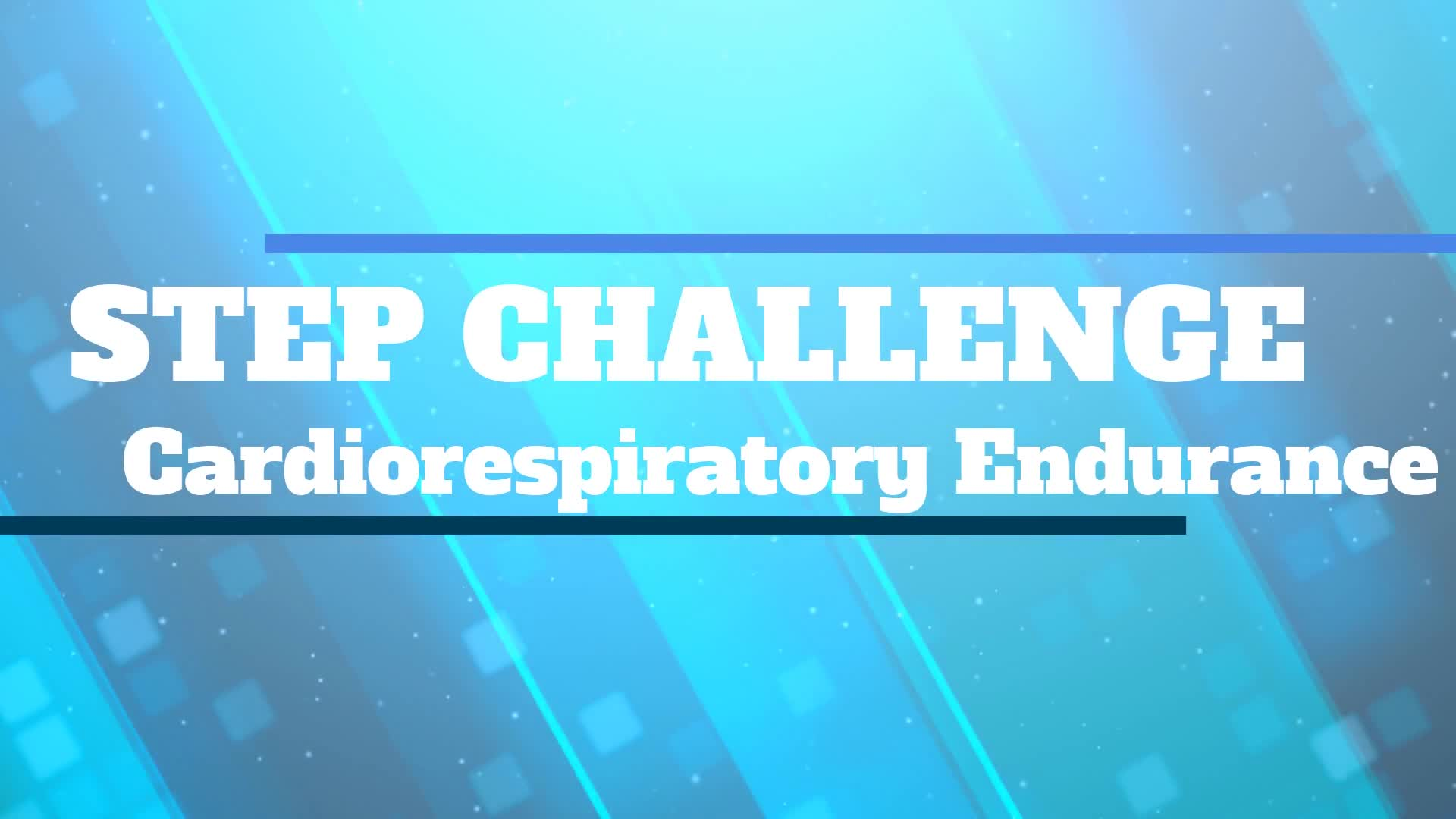 Step Challenge Introduction