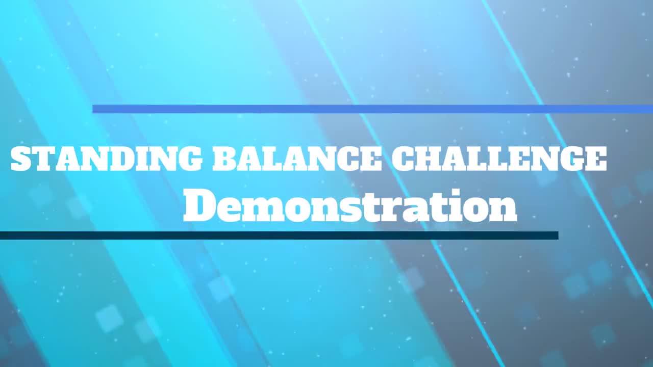 Standing Balance Challenge Demonstration