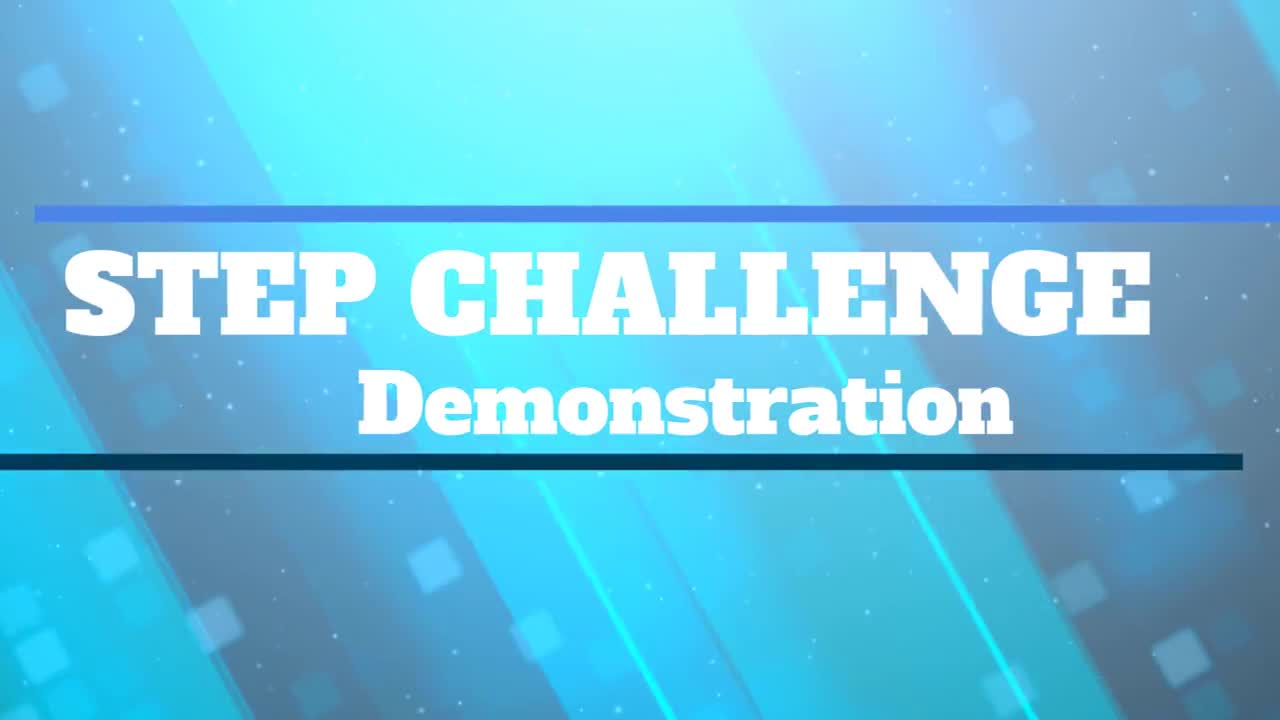 Step Challenge Demonstration